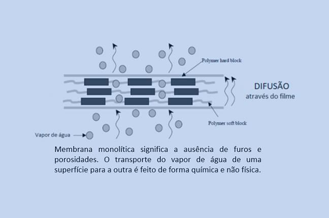 membrana monolítica