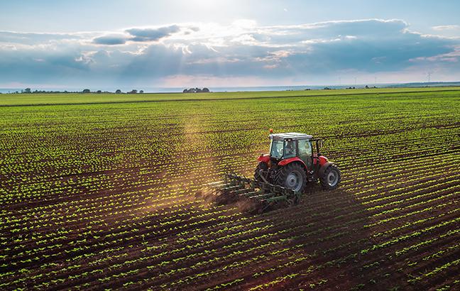 eficiência de equipamentos agrícolas